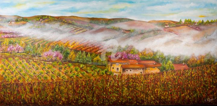 Alessandra Tabarrani - Risveglio in collina