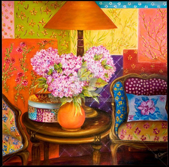 Alessandra Tabarrani - Un piccolo angolo fiorito