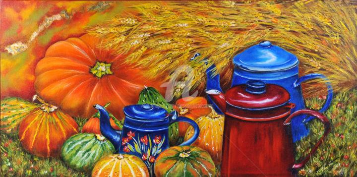Alessandra Tabarrani - armonia-di-colore-olio-su-tela-80x40